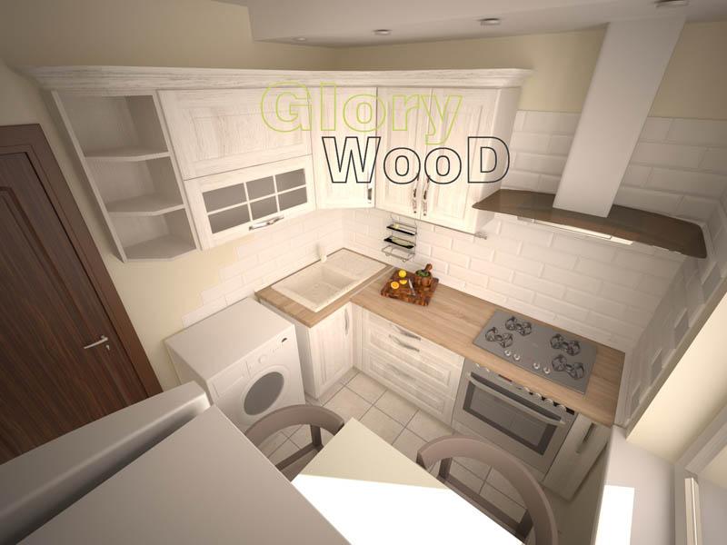 Дизайн кухни хрущевки 6 м с стиральной машиной