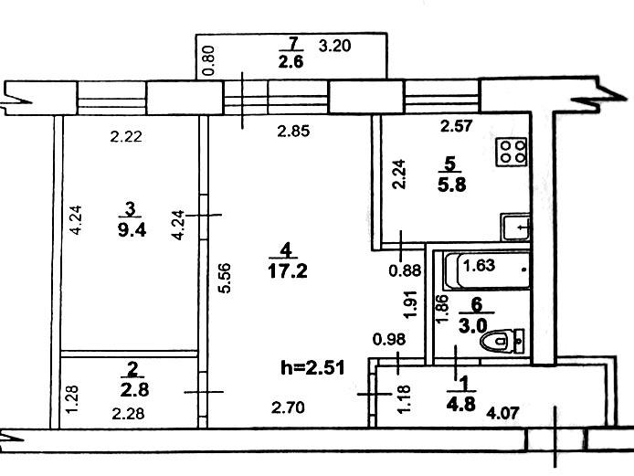 Согласование перепланировки квартиры в СПб - рассчитать